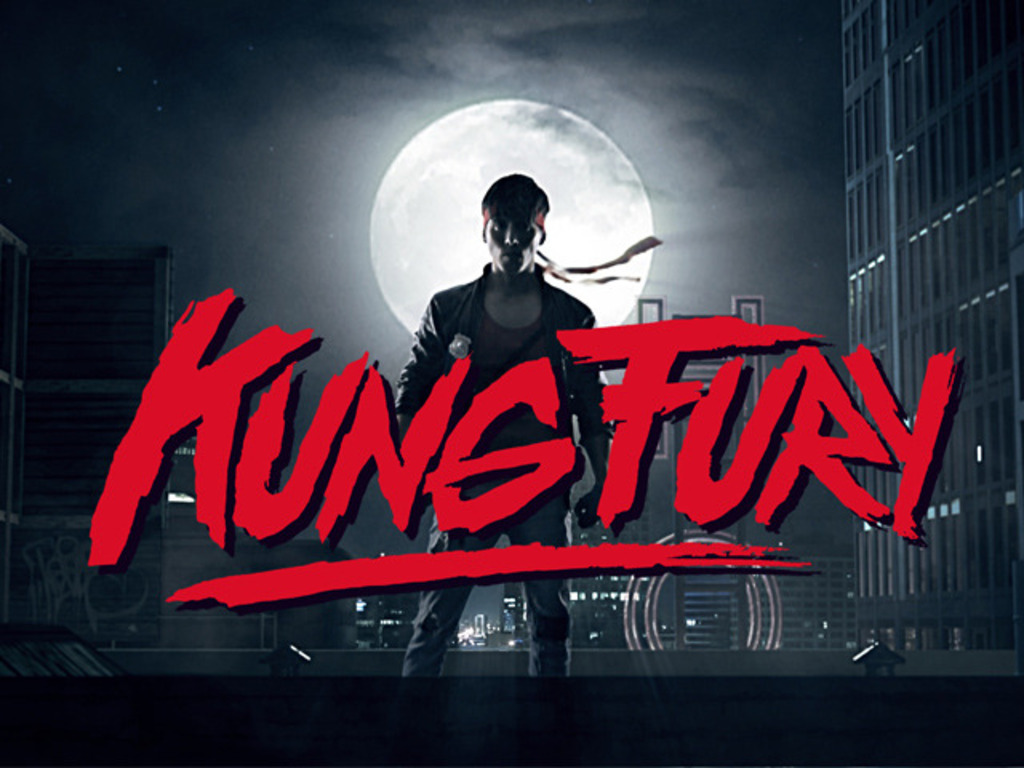 KUNG FURY's video poster