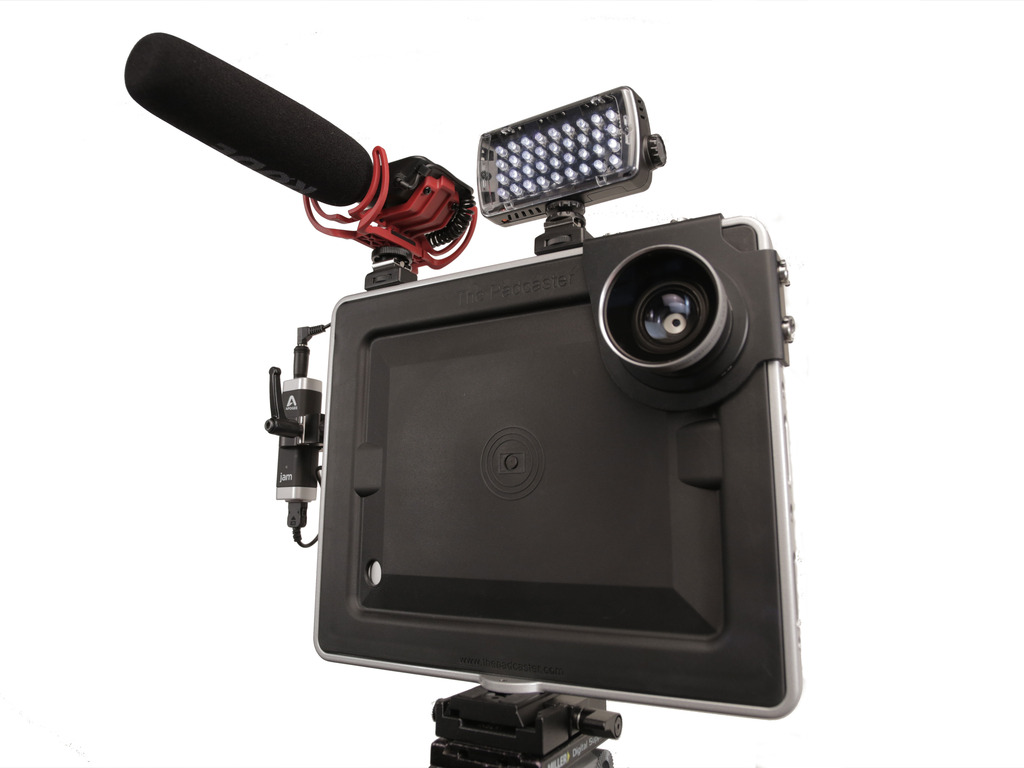 Padcaster Mini: On-the-Fly Filmmaking With the iPad mini's video poster