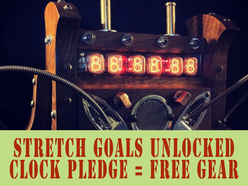 Retro Futurist Steampunk Nixie Tube Clock's video poster