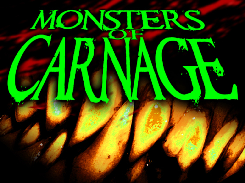Monsters of Carnage's video poster