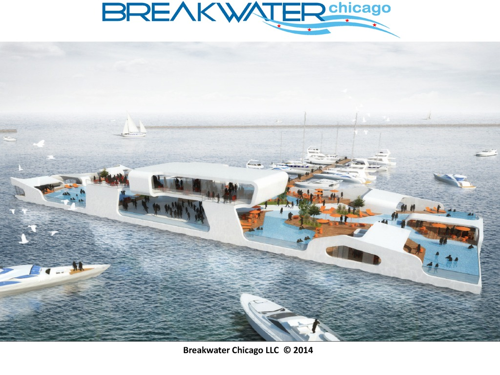 BREAKWATER CHICAGO: luxury yacht meets island resort's video poster
