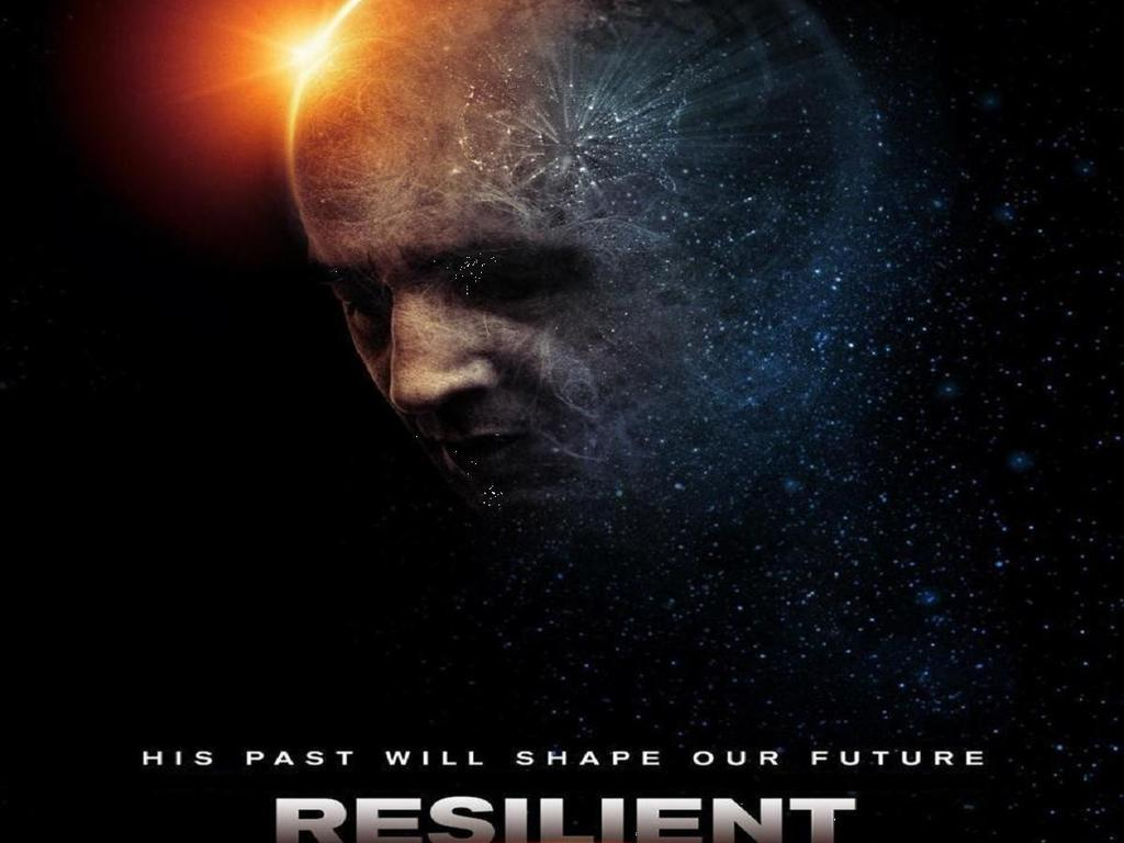 RESILIENT 3-D  Sci-Fi feature with Robert Beltran's video poster