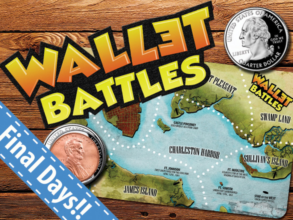 Wallet Battles - PAY WHAT YOU WANT - Microgame - Board Game's video poster