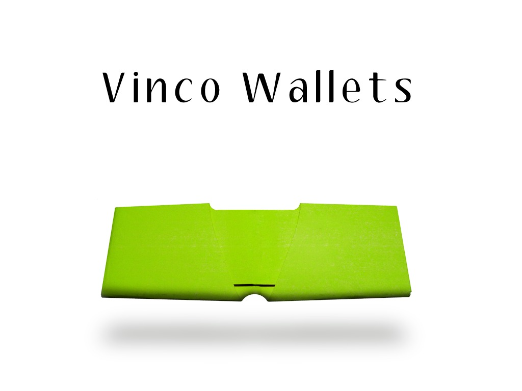 Vinco Wallets - The DIY wallet revolution!'s video poster
