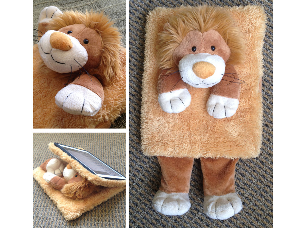 Peluche for your iPad's video poster