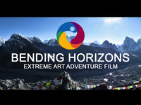 Bending Horizons Documentary 1st Artist to Summit Mt Everest