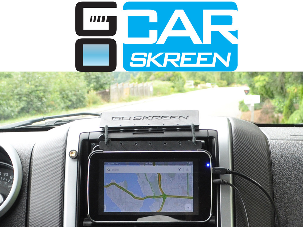 CarSkreen - A Connected Car Solution for YOU's video poster
