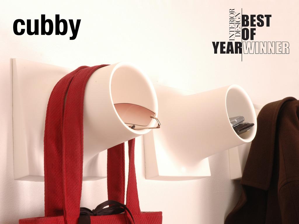 CUBBY : Award-winning Coat-hook + Storage Unit's video poster