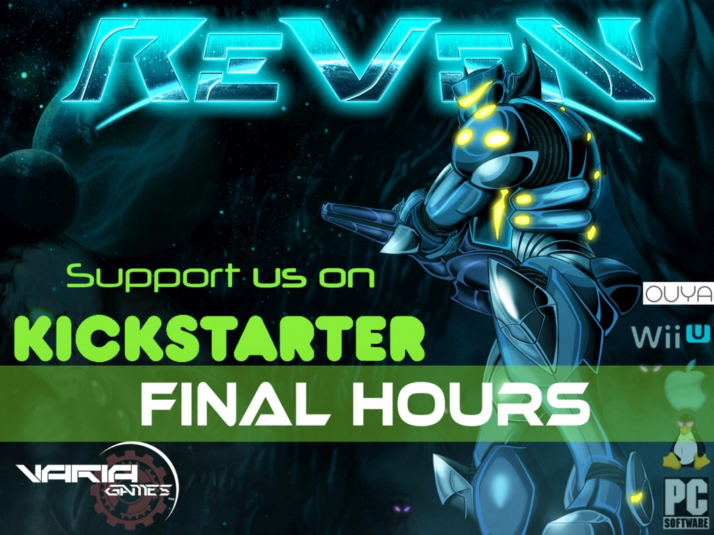 ReVeN -Wii U, PC, Mac, Linux, Ouya's video poster