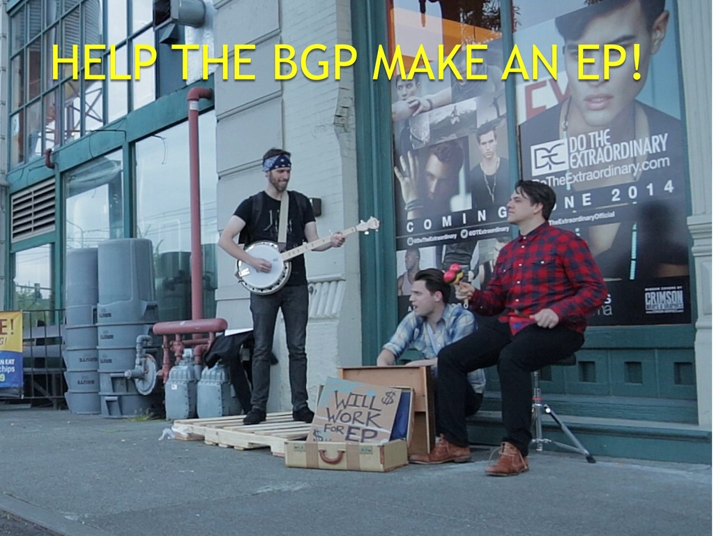 Help THE BGP make an EP!'s video poster