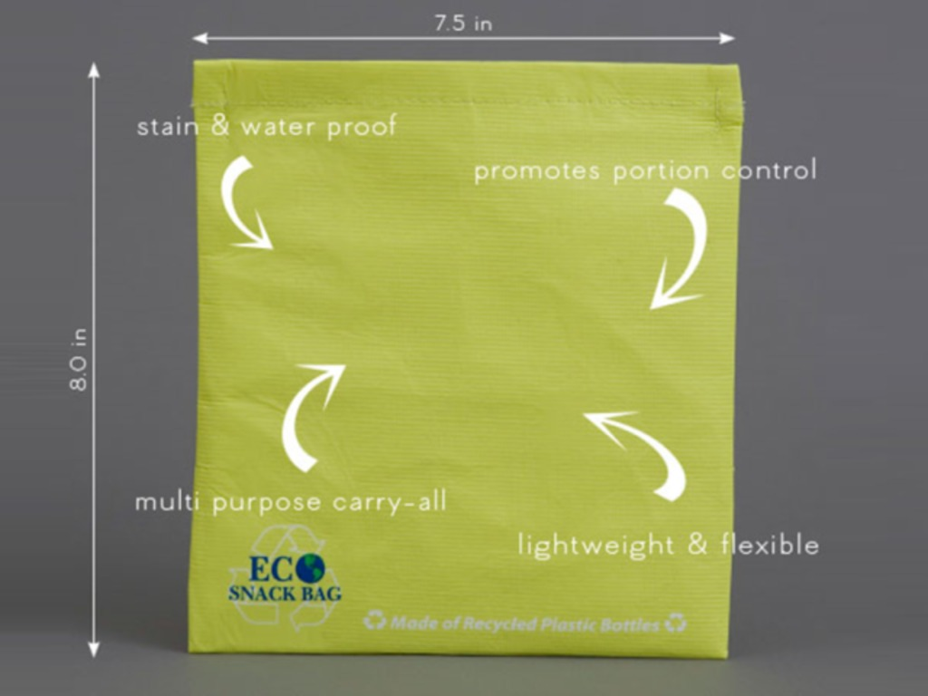 Reusable Resealable Baggie Made of Upcycled Plastic Bottles!'s video poster