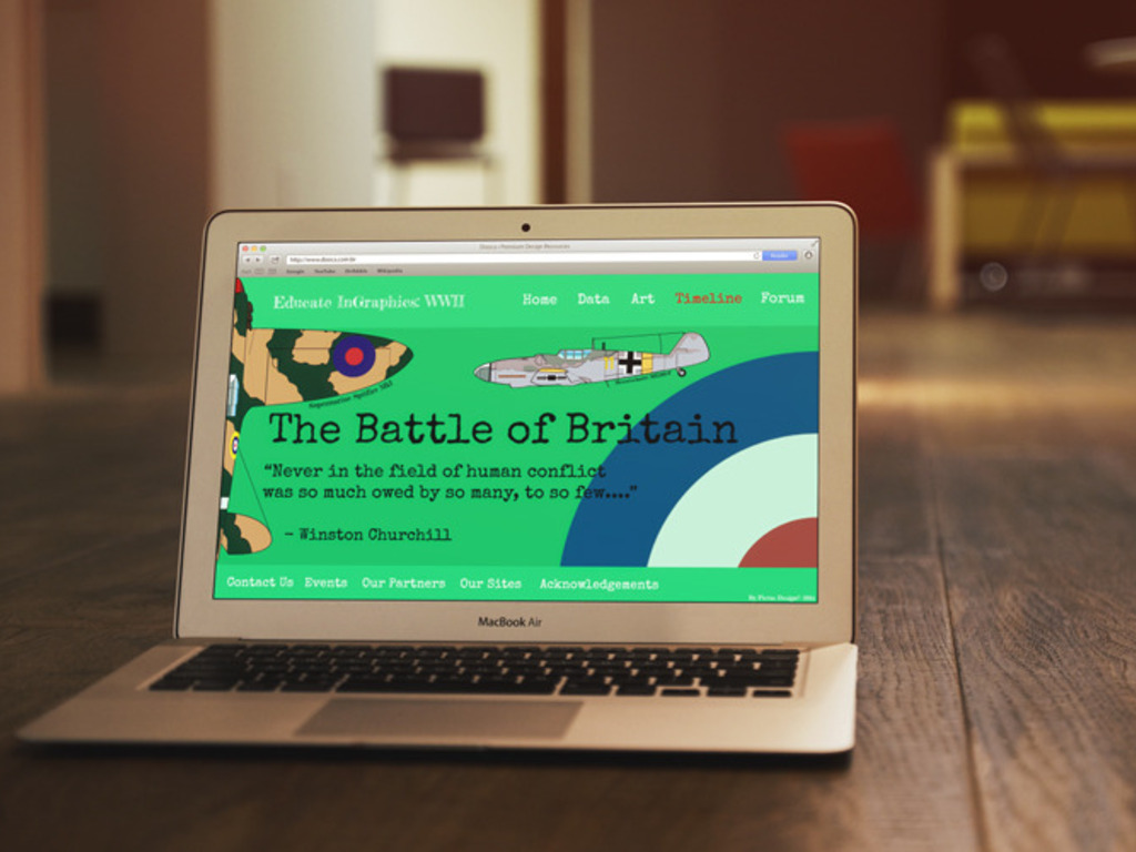 Educate InGraphics WWII: Part One - The Battle of Britain's video poster
