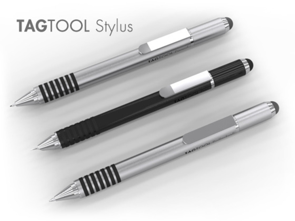 TAGTOOL Stylus Titanium Pencil & Pens for iPad and iPhone's video poster
