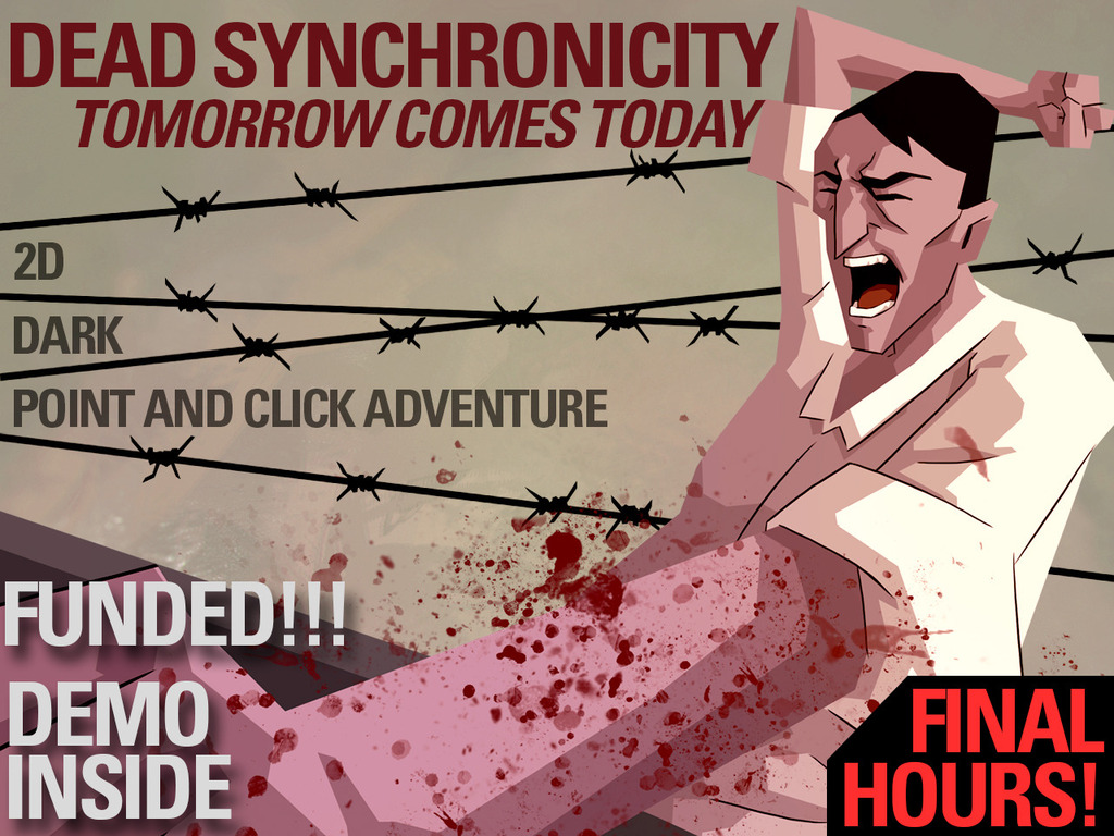 DEAD SYNCHRONICITY: TCT - A dark point and click adventure's video poster