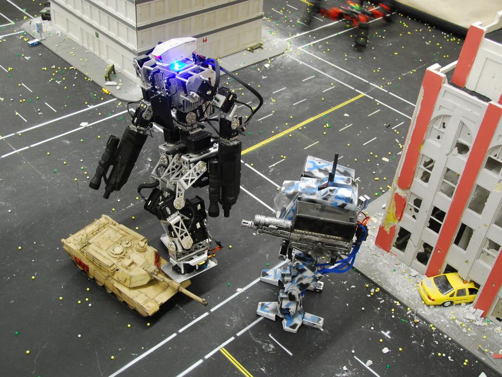 Help us build a Mech Warfare Robot Arena!'s video poster