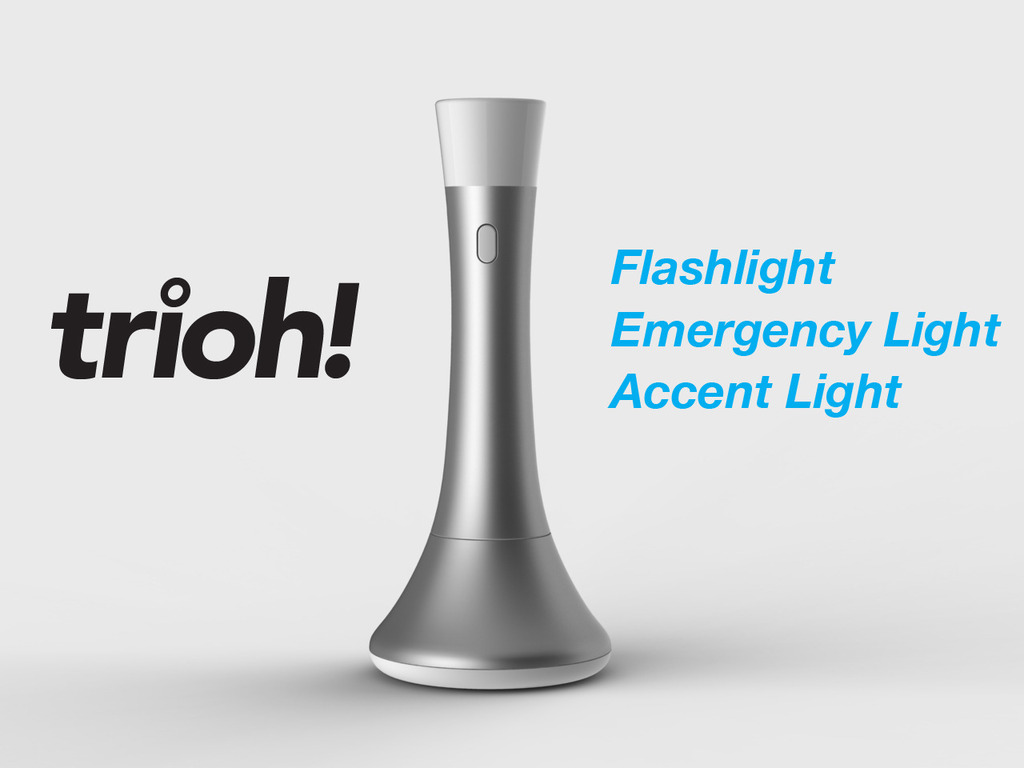 Trioh! The world's most beautiful flashlight's video poster