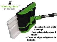 Molding Mate™ Baseboard Cleaner  - Stand while you clean!