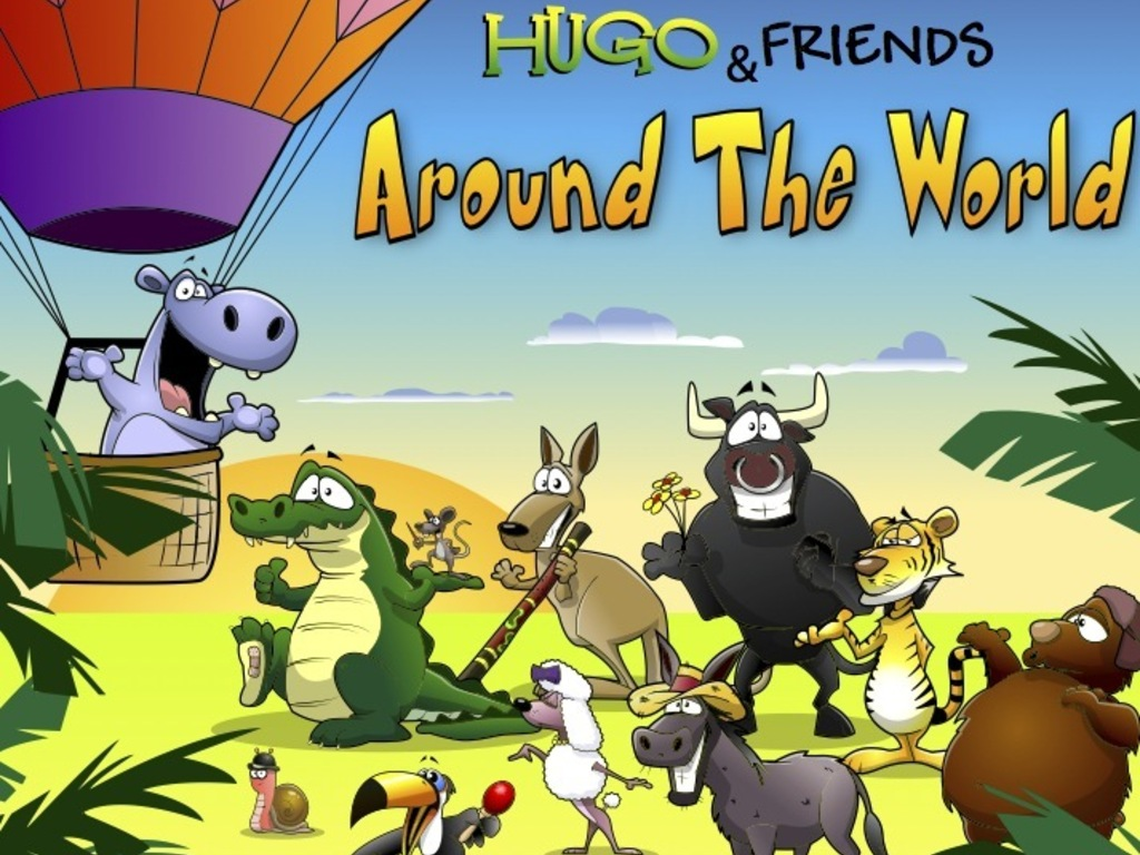 Hugo and Friends Around the World's video poster