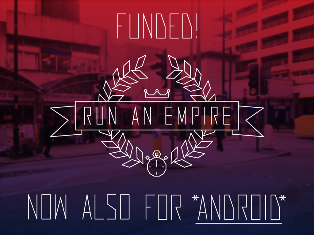 Run An Empire - The Real-World Territory Control Game's video poster