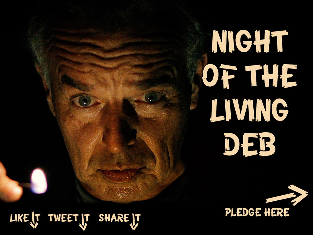 """""""Night of the Living Deb"""" – a feature film's video poster"""