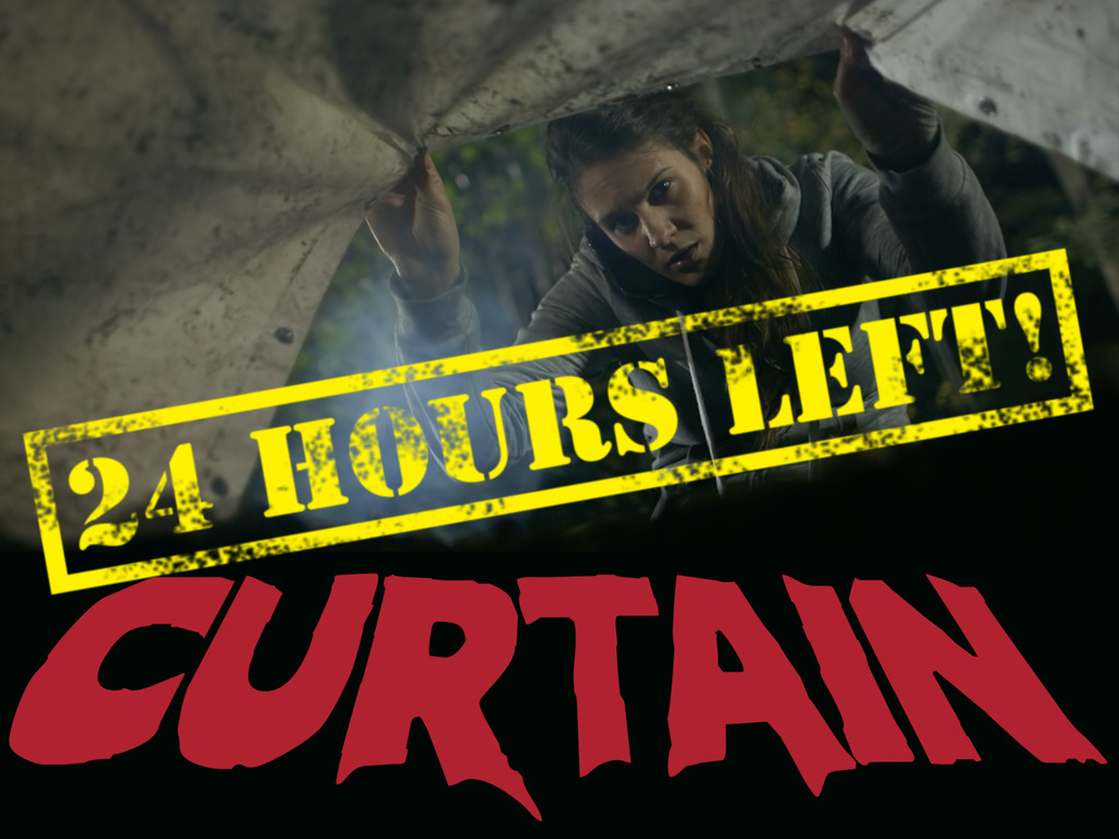 CURTAIN: indie horror feature ready for post-production!'s video poster