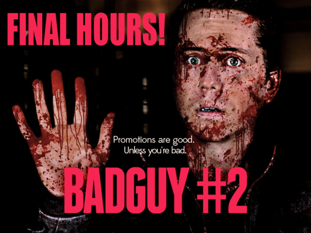 Bad Guy #2's video poster