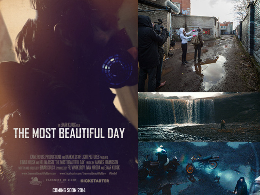 The Most Beautiful Day (sci-fi)'s video poster