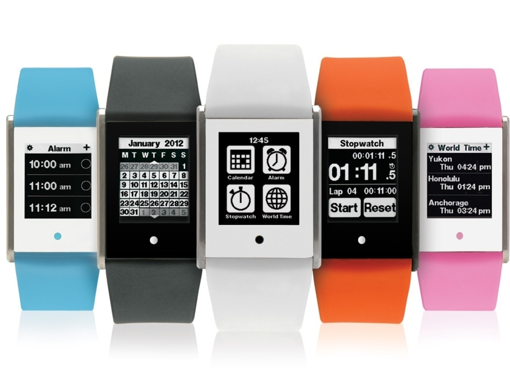 TOUCH TIME: Digital Watch with Touch Screen's video poster