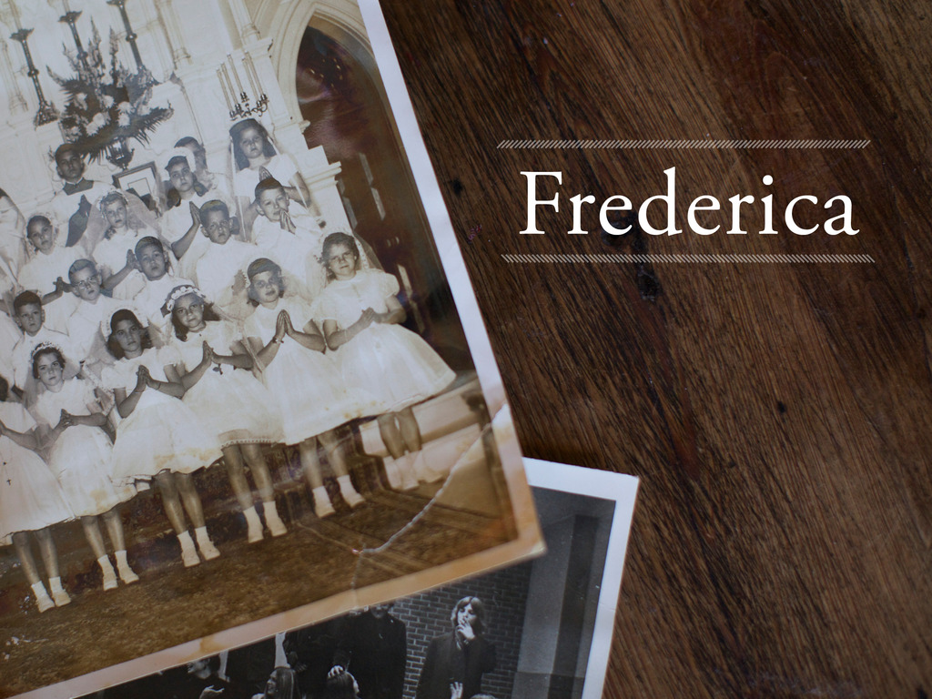 Frederica: The Life and Work of Frederica Mathewes-Green's video poster