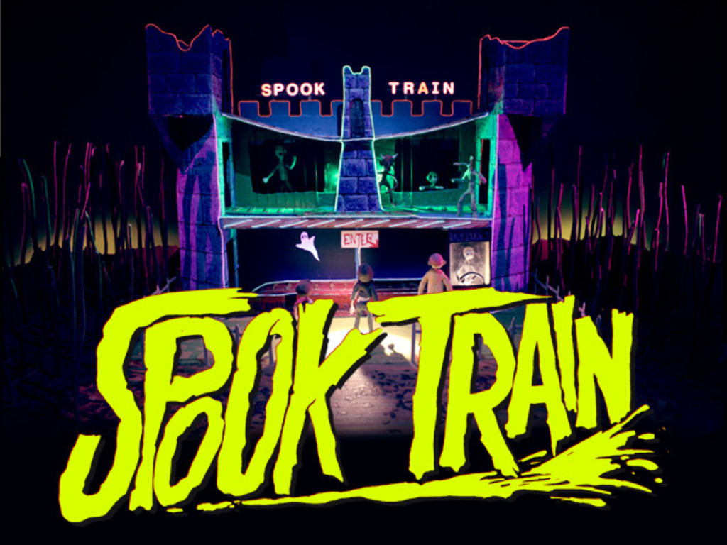 SPOOK TRAIN 3D's video poster