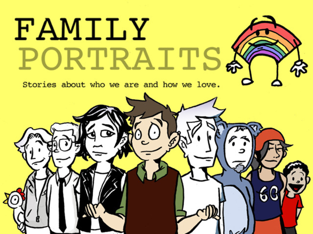 QUEER AND TRANS COMIC SERIES LAUNCH & USA TOUR!'s video poster