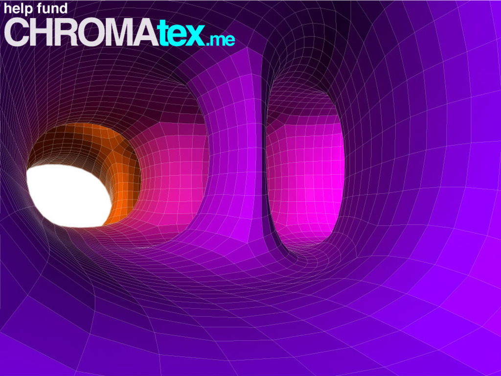 CHROMAtex.me: a site specific installation's video poster