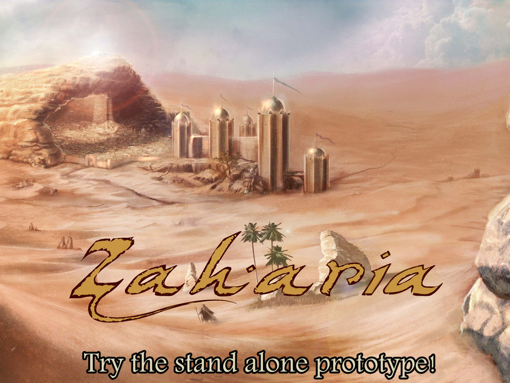 Zaharia, a fantasy RPG inspired by Middle Eastern world's video poster