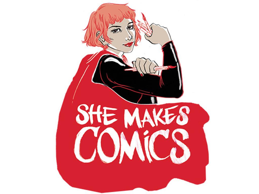 She Makes Comics's video poster