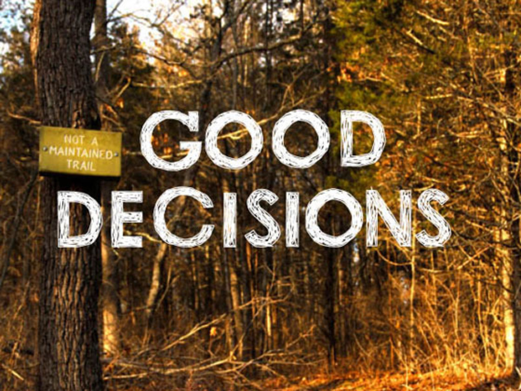 Good Decisions's video poster