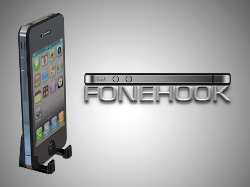 Fonehook: hang up your iPhone's video poster