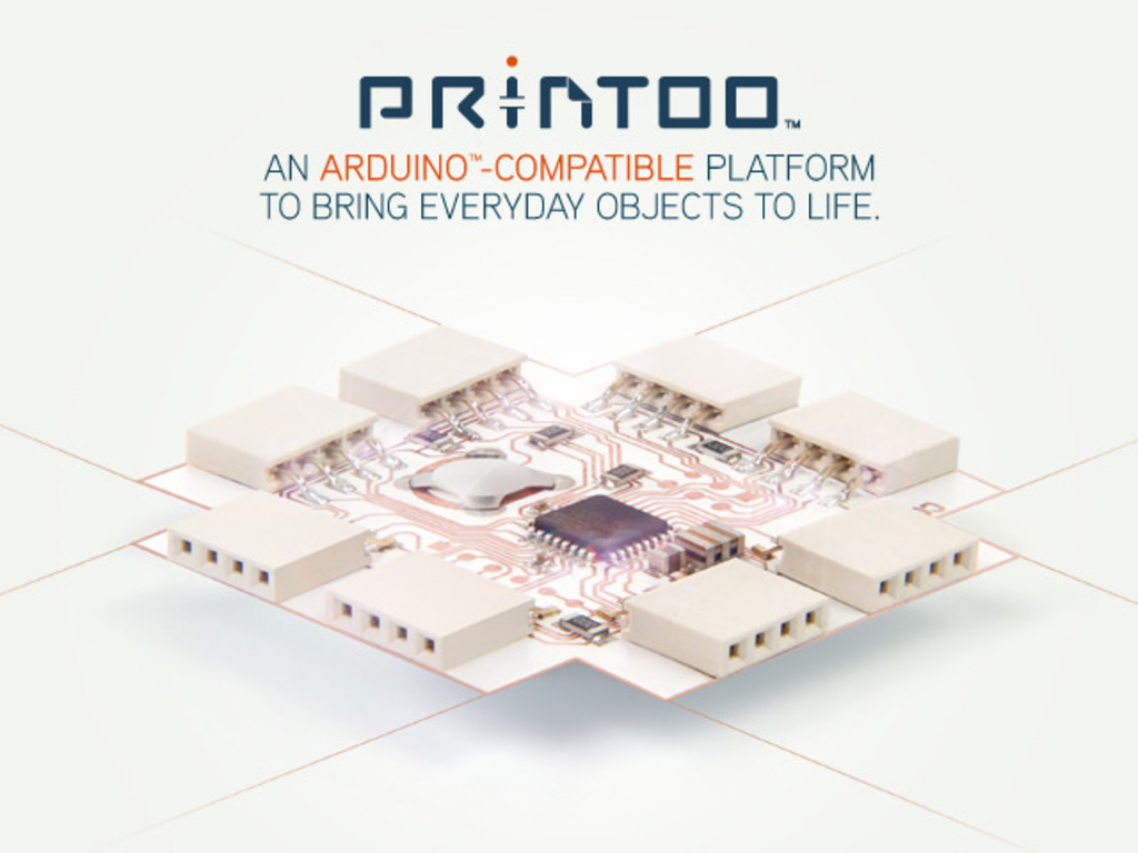 Printoo: Paper-Thin, Flexible Arduino™-Compatible modules!'s video poster
