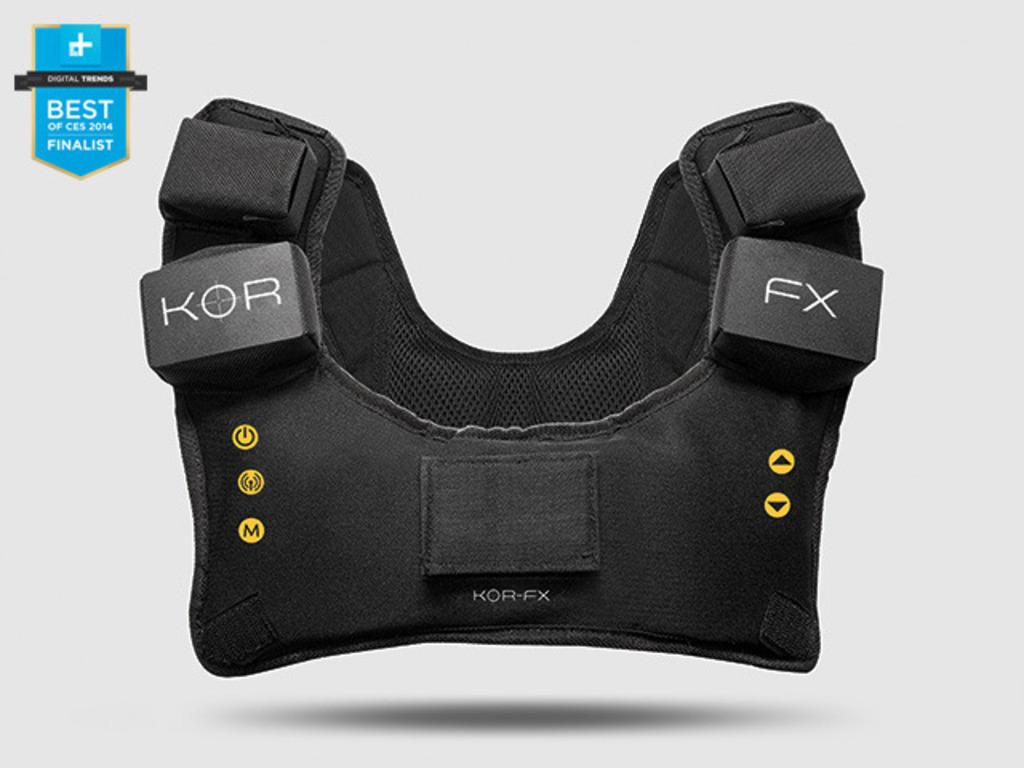 KOR-FX Gaming Vest: 4DFX Haptic Feedback System's video poster