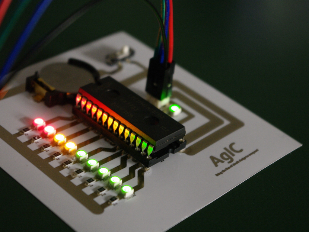 AgIC Print - Printing circuit boards with home printers's video poster