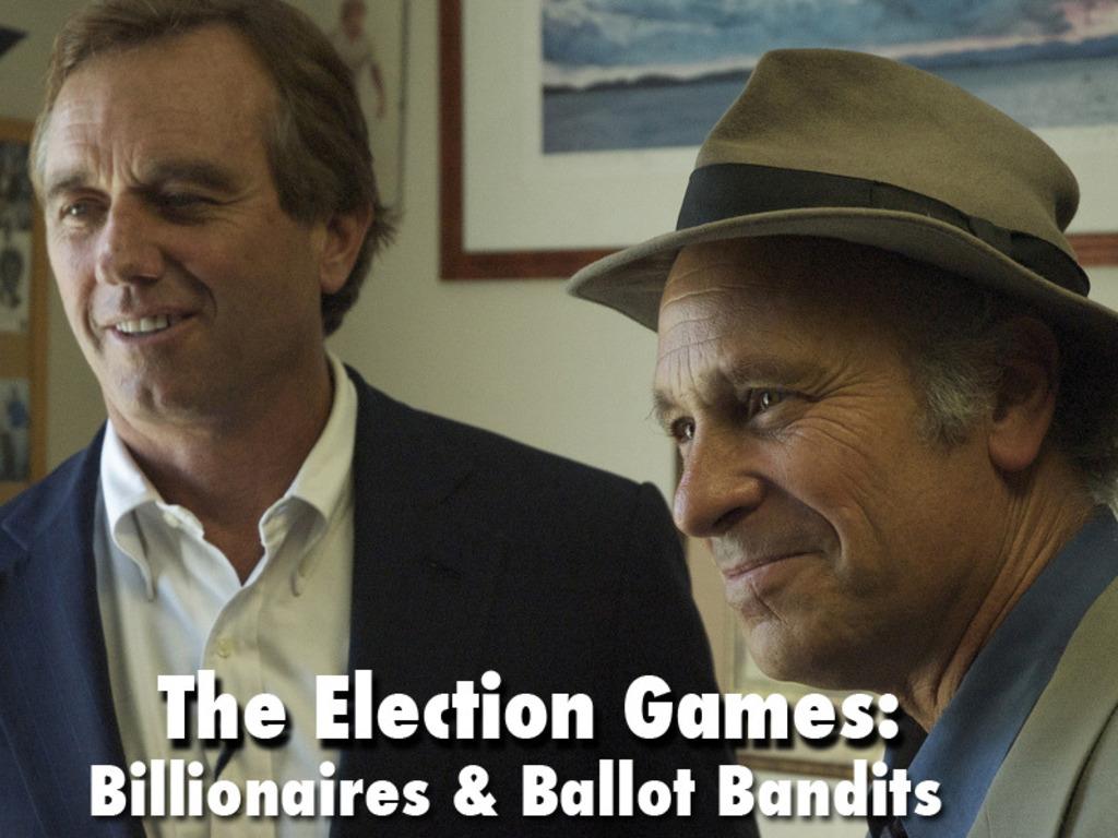 Kickstarter: Election Games: Billionaires & Ballot Bandits's video poster