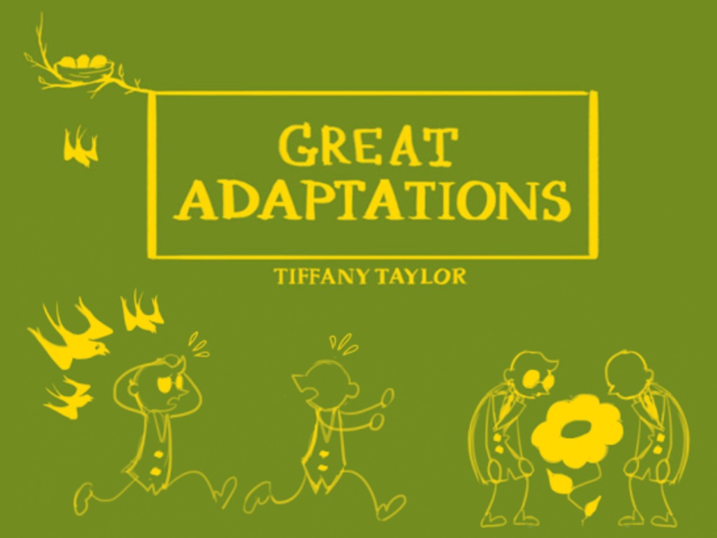 Great Adaptations - a children's book about evolution's video poster