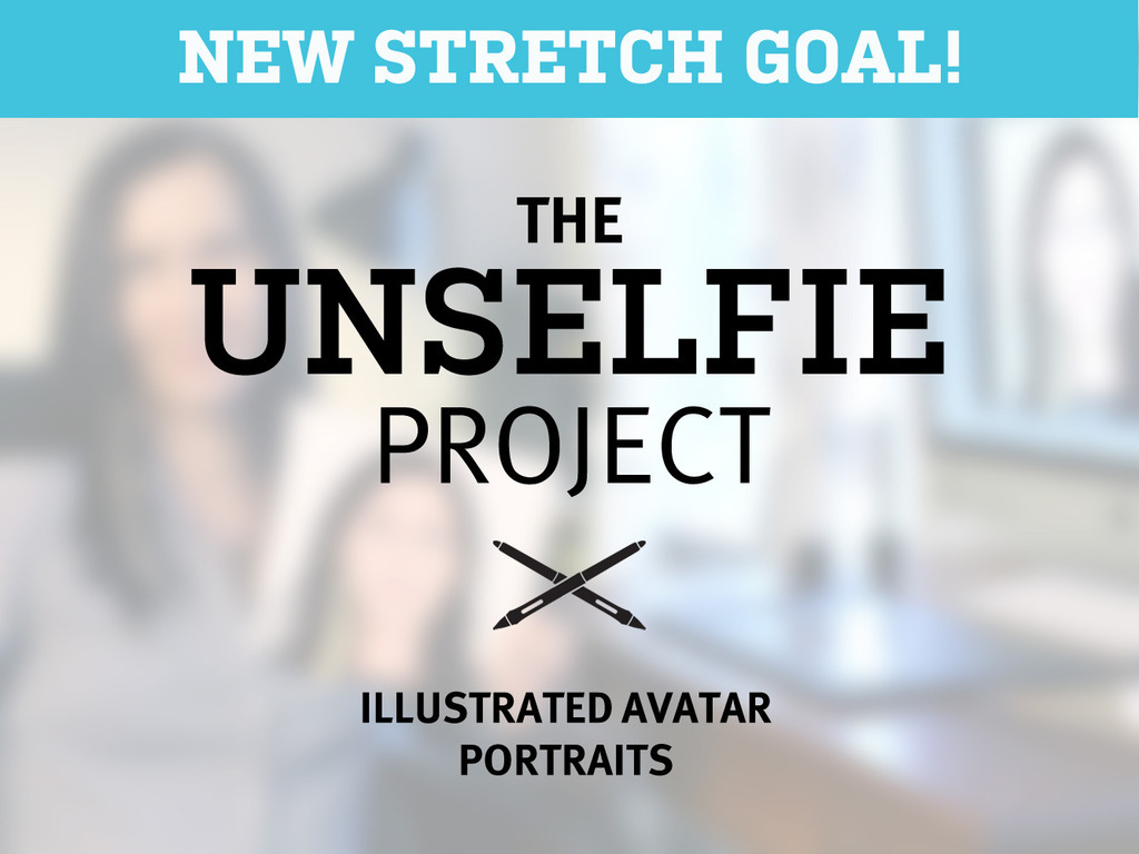 The UnSelfie Project: Illustrated avatar portraits's video poster