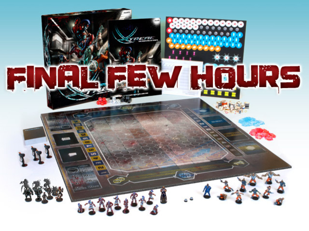 DreadBall Xtreme - The Brutal Sci-fi Sports Board Game's video poster