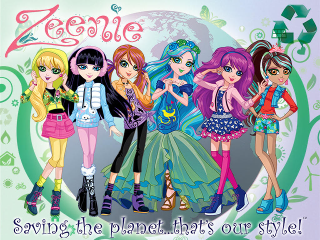 Zeenie Dollz - Animated Webisode's video poster