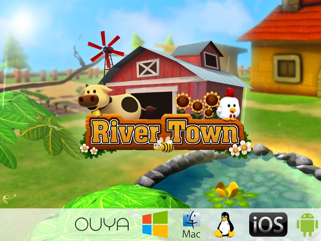River Town - Farming Role Play Game with Heartwarming Story's video poster