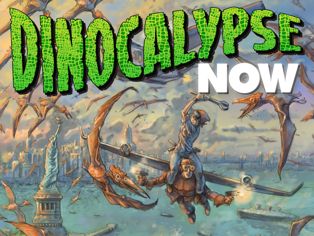 Spirit of the Century Presents: The Dinocalypse Trilogy's video poster