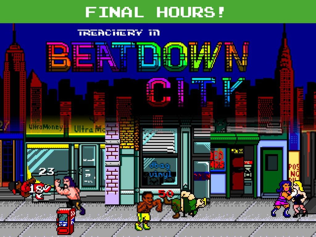 Treachery in Beatdown City: A tactical brawler!'s video poster