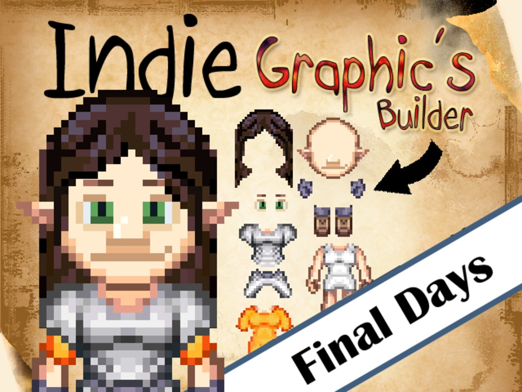 Indie Graphics Builder #2 (Create Sprites for Your Game)'s video poster