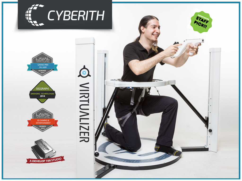 Cyberith Virtualizer - Immersive Virtual Reality Gaming's video poster