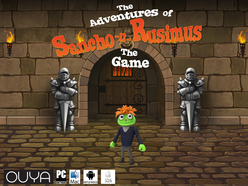 The Adventures of Sancho-n-Rusimus - The Video Game!'s video poster